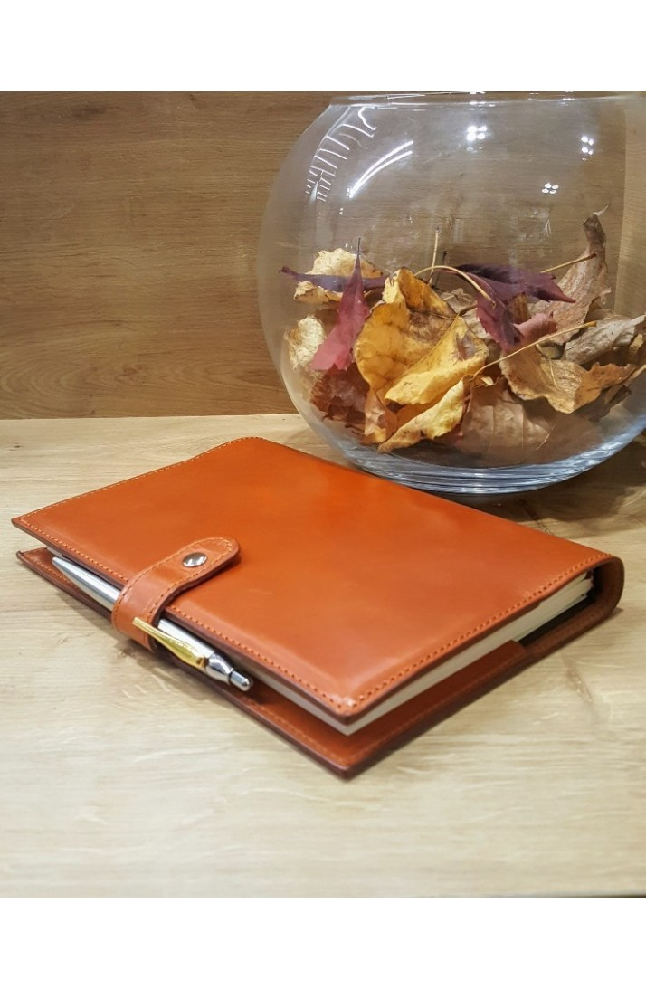36f607effec Leather agenda cover - Corzo Artesania