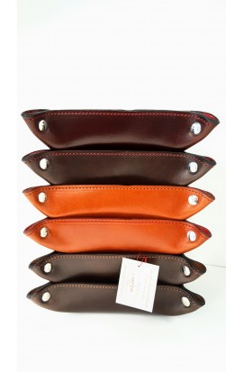 Valet tray leather