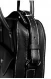 Maletín executivo de coiro portadocumentos / portátil