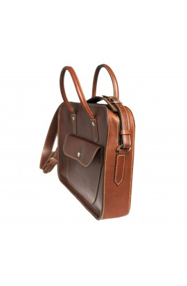 Leather Executive Briefcase notebook / laptop